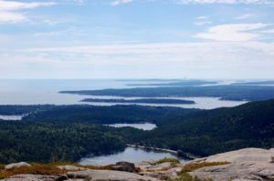 acadia-view from top