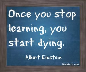 keep learning or start dying