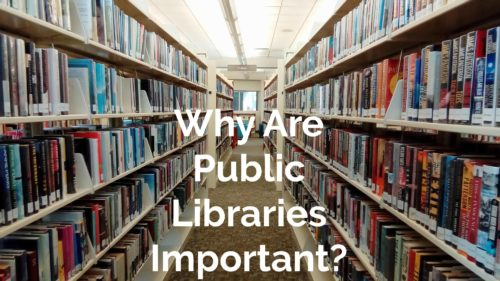 why are public libraries important?