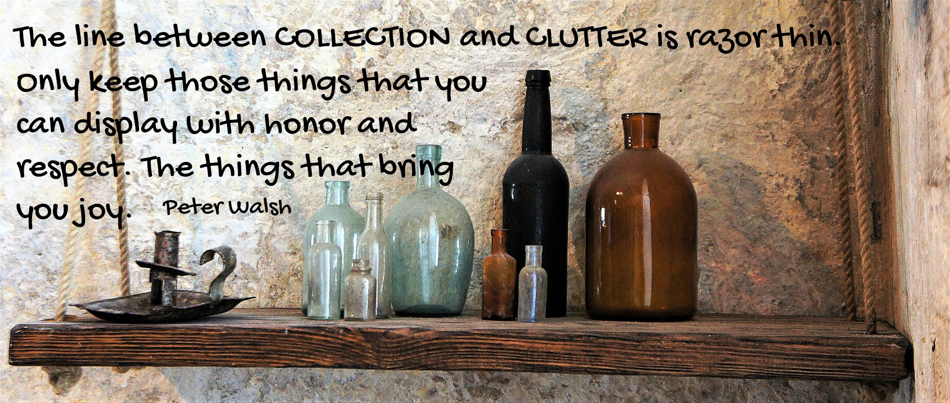 Clutter Doesn't Always Look Cluttered