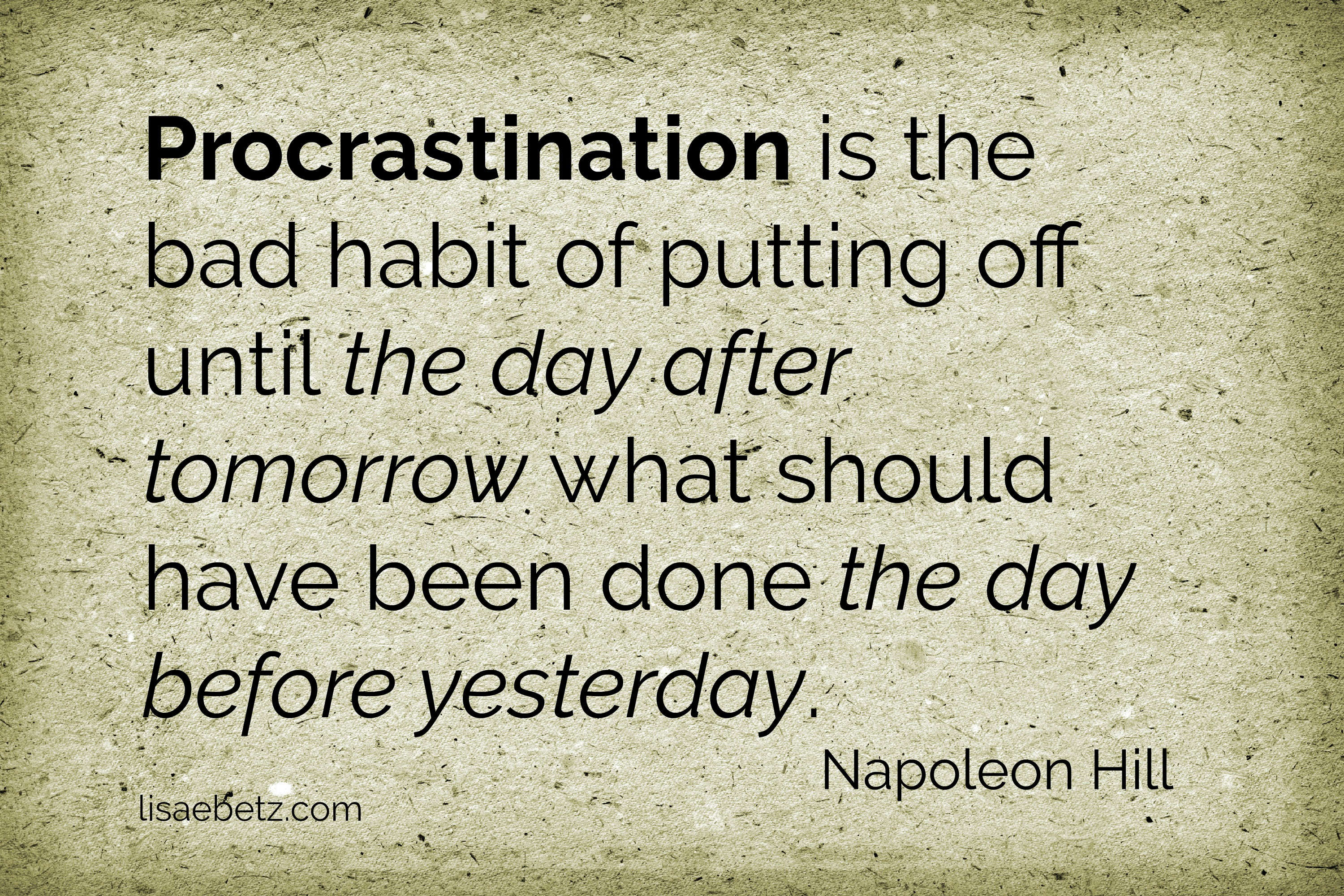 7 Tips to Overcome Procrastination