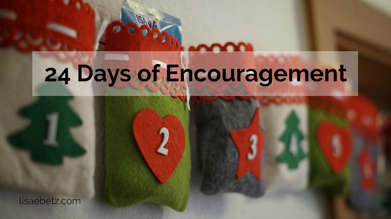 24 Days of Encouragment