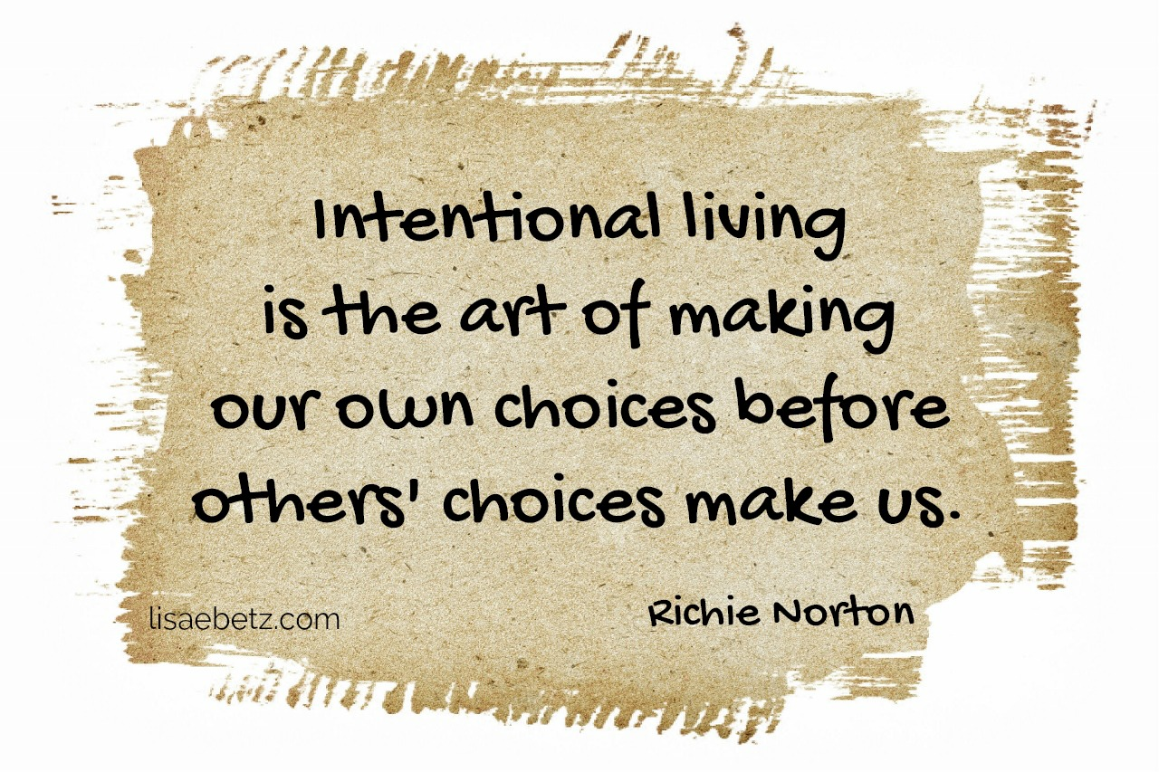 How Intentional Will You Be This Year?