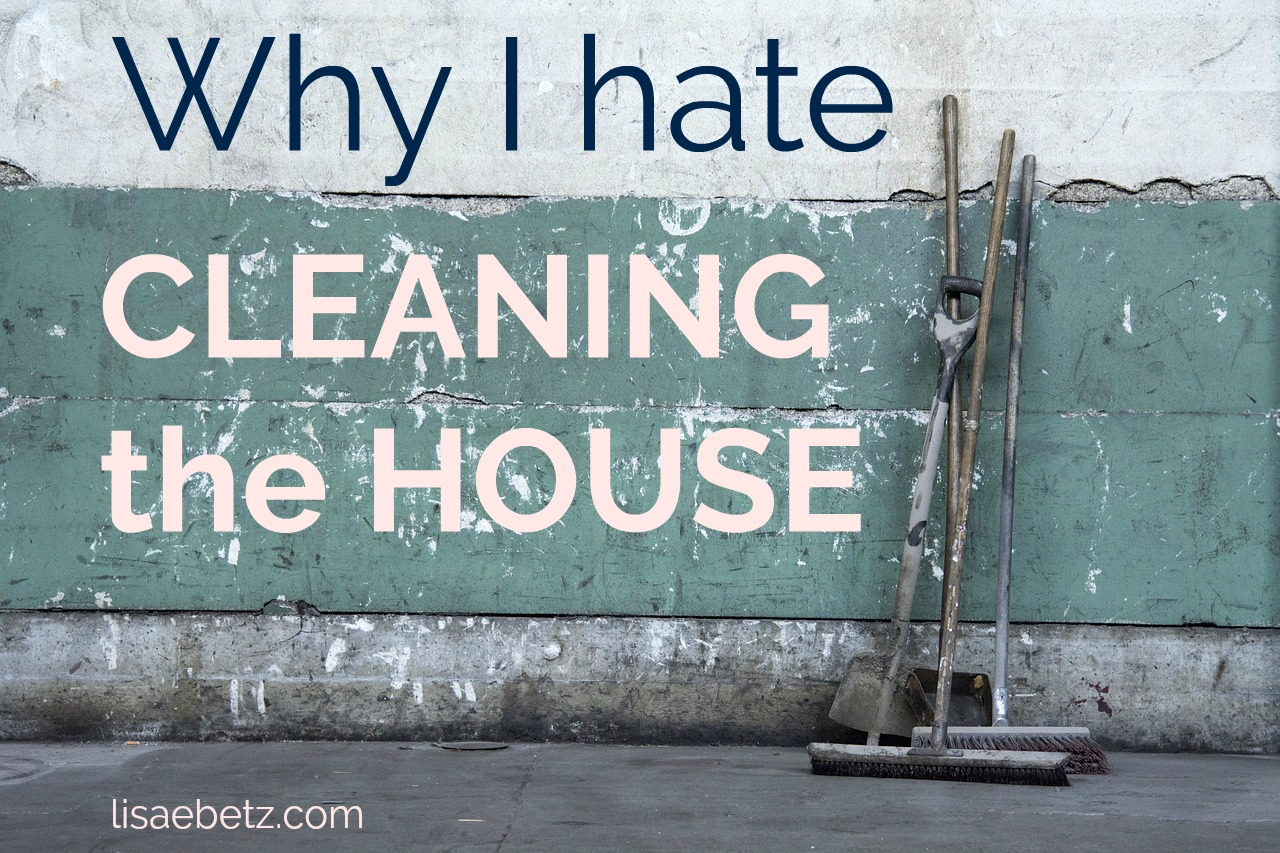 Why I Hate Cleaning the House (and maybe you do, too)