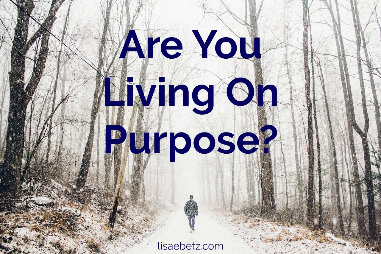 Are You Living On Purpose?